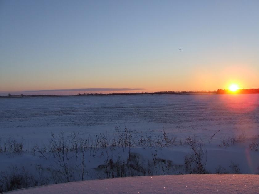 Sunrise, December 16